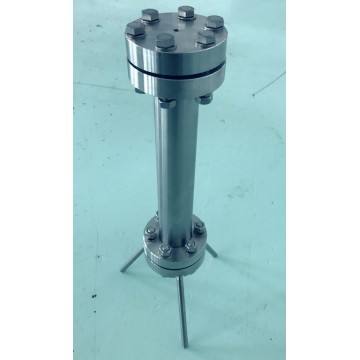 30mm flange chromatography column tube