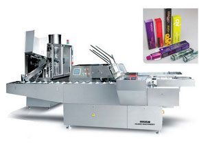 GF400-ZHJ120D Automatic Tube Filling and Sealing Cartoning Packing Production Line