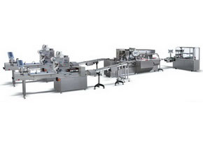 ZHJ-260D Horizontal Pillow Packing-Cartoning and 3-Dimension Production Line