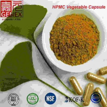 GENEX Hard empty vegetarian capsules with OEM Color