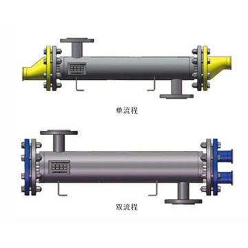 Double Tube Heat Exchanger