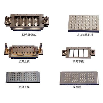 Blister machine mould