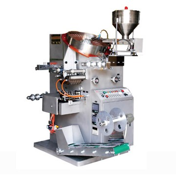 Rotating disc double aluminum packaging machine