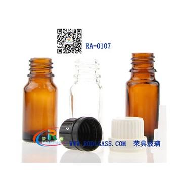 10ML amber essential oil glass botttle