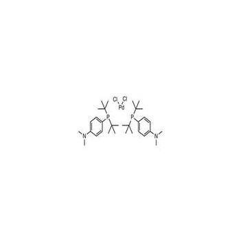 BIS(DI-TERT-BUTYL(4-DIMETHYLAMINOPHENYL)PHOSPHINE)DICHLOROPALLADIUM(II)[887919-35-9]