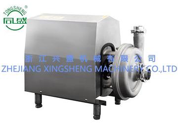Sanitary self-priming pump