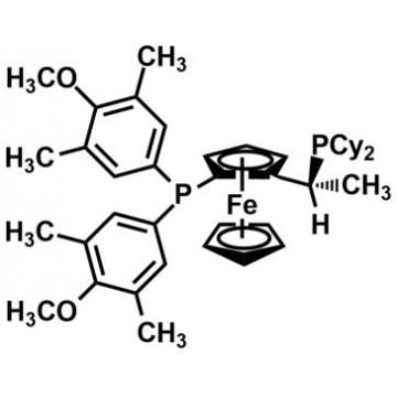 (R)-(-)-1-{(S)-2-[Bis(3,5-dimethyl-4-methoxyphenyl)phosphino]ferrocenyl}ethyldicyclohexylphosphine[3