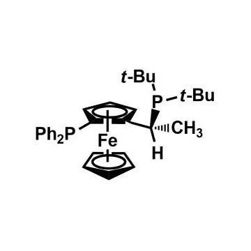(R)-1-[(S)-2-(Diphenylphosphino)ferrocenyl]ethyldi-tert-butylphosphine[155830-69-6]