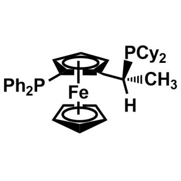 (R)-(-)-1-[(S)-2-Diphenylphosphino)ferrocenyl]ethyldicyclohexylphosphine[155806-35-2]