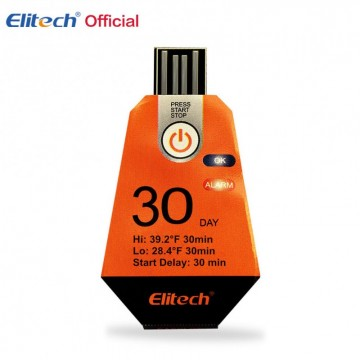 RC-12 Single Use USB Temperature Data Logger