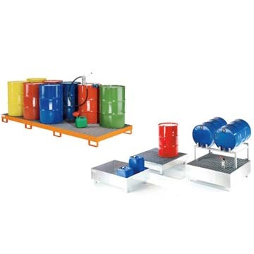 Steel Spill Containment Pallet - ZCP
