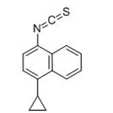 NAPHTHALENE, 1-CYCLOPROPYL-4-ISOTHIOCYANATO-