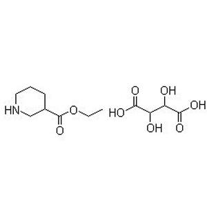 Ethyl (S)-nipecotate-D-tartrate