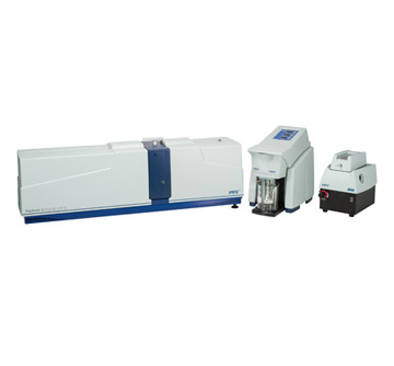 Laser particle size analyzer - TopSizer