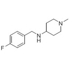 4-(4-fluorobenzylamino)-1-methylpiperidine