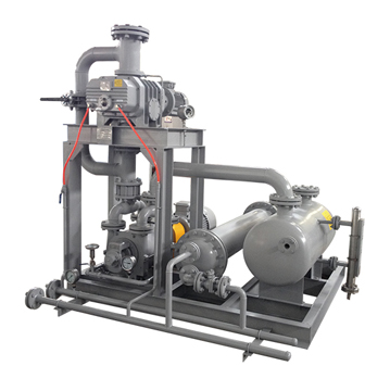 JZJS type tri-lobe Roots/Liquid Ring vacuum pumping system