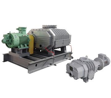 ZJ-type tri-lobe Roots vacuum pump