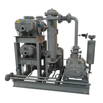 JZJDP tri-lobe Roots/Screw vacuum pumping system