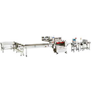 biscuit packing machine with auto feeding system