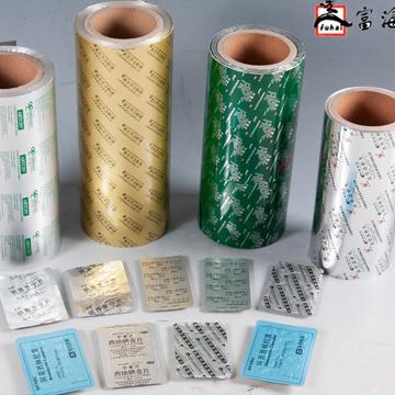 Pharmaceutical aluminum blister foil