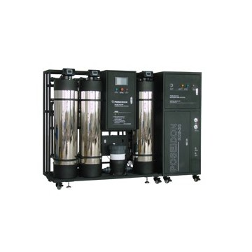 Classical central water purification system