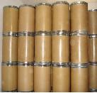 barrel of spirulina powder