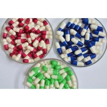 Empty gelatin capsules
