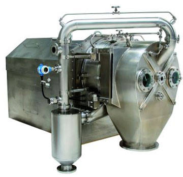 Inverting filter centrifuges