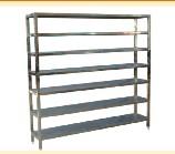 Plate equipment rack