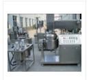 Vacuum homogenizing machine for cosmetic paste equipment