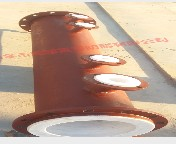 Steel liner 4 fluorine die pipe 2