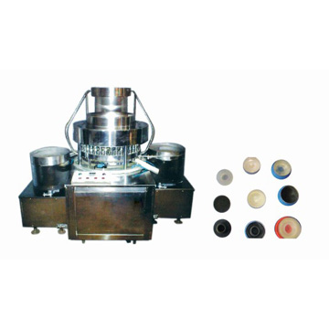 WZD series assembly machine for flip off caps with stoppers or rubber disc