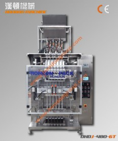 DXD-320T Automatic Multi-lines Special-shaped Stick Bag Packing machine
