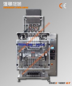 DXDY2-320T Automatic Multi-lines Special-shaped Sauce/Liquid Packing machine