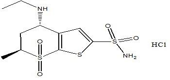 Dorzolomide hydrochloride