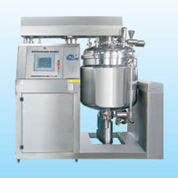 BXZRH series touch screen emulsifying machine