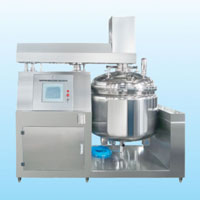 BXZRJ series touch screen emulsifying machine