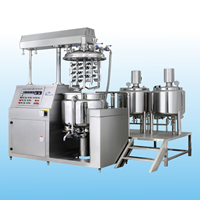 BXZRH Vacuum emulsifying mixers(internal&external homogenization)
