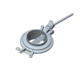FDF standard butterfly valve