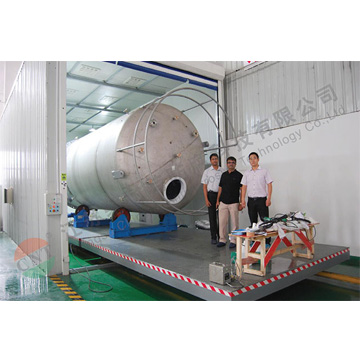 cnt003-20m3 Semiconductor grade ammonia tank (lined with Daikin APV)