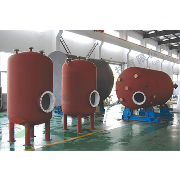 cnt004-10m3 Vertical storage tank (lined with PTFE)