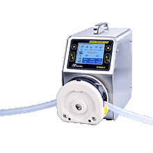 High Torque And Low Pressure Stepper Motor Peristaltic Pump With Silicone Tubing For Mini Milking Ma