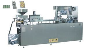 DPP-160F Flat Type AL/PL Blister Packing Machine