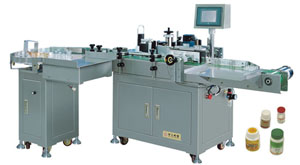 Vertical Self-adhesive Labeling Machine
