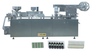 DPP-350 Flat Type AL/PL Blister Packing Machine