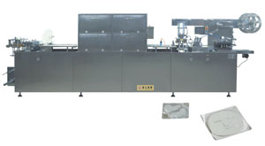 DPP-350A Flat Type AL/PL Blister Packing Machine