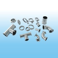 Stainless steel sanitary pipe fittings and valves3