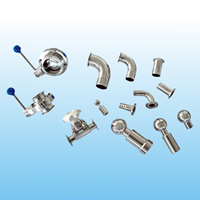 Stainless steel sanitary pipe fittings and valves6