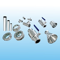 Stainless steel sanitary pipe fittings and valves8