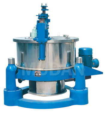 SGZ Scraper bottom discharging centrifuge